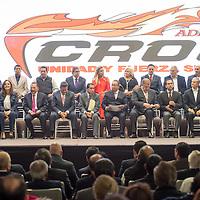 TOLUCA, Mexico.- Aspecto durante el acto de adhesión de Sindicatos y organizaciones a la Confederación Revolucionaria Obrero Campesina (CROC). Agencia MVT / Mario Vazquez de la Torre.
