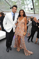 ALESHA DIXON and DAVID GANDY at the Glamour Women of the Year Awards 2012 in association with Pandora held in Berkeley Square Gardens, London W1 on 29th May 2012.