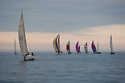 Sailing-A wednesday evening sailboat race on Lake Michigan sponsered by South Shore Yacht Club.