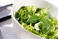 Close up of spring salad