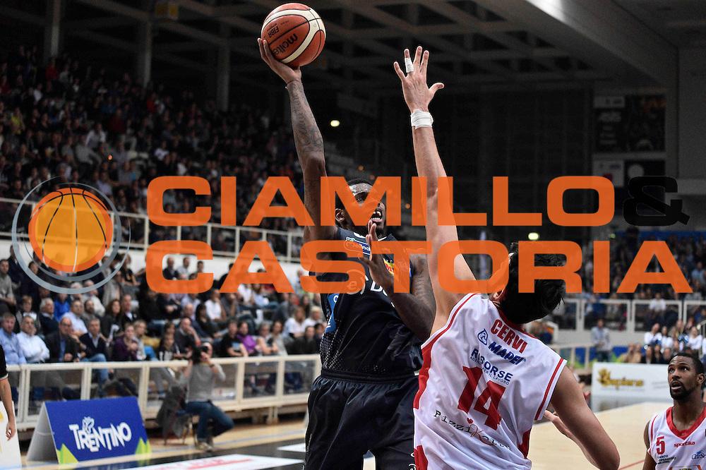 Jefferson Johndre<br /> Dolomiti Energia Trento - Grissin Bon Reggio Emilia<br /> Lega Basket Serie A 2016/2017<br /> Trento 30/10/2016<br /> Foto Ciamillo-Castoria