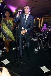 BRYAN FERRY at a 1970's themed party as part of Annabel's 50th anniversary celebrations, held at Annabel's, Berkeley Square, London on 24th September 2013.
