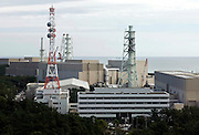 (FILE) Photo shows Hamaoka Nuclear Power Plant in Omaezaki, Shizuoka Prefecture, Japan in 2007. The subject of much controversy, the Hamaoka nuclear facility is built directly over the subduction zone near the junction of two tectonic plates. Photographer: Robert Gilhooly