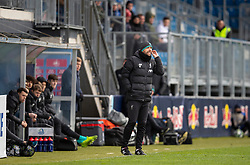 GRÖDIG, AUSTRIA - Tuesday, December 10, 2019: Liverpool's manager Barry Lewtas during the final UEFA Youth League Group E match between FC Salzburg and Liverpool FC at the Untersberg-Arena. (Pic by David Rawcliffe/Propaganda)