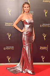 Heidi Klum bei der Ankunft zur Verleihung der Creative Arts Emmy Awards in Los Angeles / 110916 <br /> <br /> *** Arrivals at the Creative Arts Emmy Awards in Los Angeles, September 11, 2016 ***