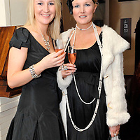 -FREE PICTURE / NO REPRODUCTION FEE-.Pictured at the annual Black and White Ball in the Blue Haven Hotel, Kinsale were Ingrid and Heather O'Donovan, Kinsale..Pic. John Allen