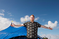 Repro Free: Gavin James kicks off the Absolut Big Top music programme at the 40th Galway International Arts Festival. The Festival runs until 30 July and includes a world-class music line-up including Brian Wilson and his 10-piece band who this Sunday will perform the legendary album Pet Sounds in its entirety along with a string of Beach Boys hits. For more see giaf.ie  Photo:Andrew Downes, xposure .