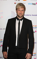 KIAN EGAN arrives for the Radio Academy Awards, London, United Kingdom. Monday, 12th May 2014. Picture by i-Images