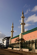 Islamic Cultural Center building. Colon City; Colon province; Panama; Central America.