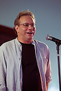 June 17, 2006; Manchester, TN.  2006 Bonnaroo Music Festival..Lewis Black peforms at Bonnaroo 2006.  Photo by Bryan Rinnert