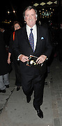 09.MARCH.2010 - LONDON<br /> <br /> TERRY WOGAN ATTENDS THE PRMIER OF ANDREW LLOYD WEBBER'S NEW OPERA LOVE NEVER DIES AT THE ADELPHI THEATER IN LONDON. <br /> <br /> BYLINE MUST READ: OPTICPHOTOS.COM<br /> <br /> *THIS IMAGE IS STRICTLY FOR UK NEWSPAPERS &amp; MAGAZINES ONLY*<br /> *FOR WORLDWIDE SALES OR WEB USE PLEASE CONTACT OPTICPHOTOS - 0208 954 5968*