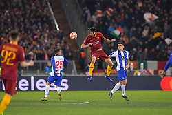 12.02.2019, Stadio Olimpico, Rom, ITA, UEFA CL, AS Roma vs FC Porto, Achtelfinale, Hinspiel, im Bild Federico Fazio Federico Fazio during the UEFA Champions League round of 16, 1st leg match between AS Roma and FC Porto at the Stadio Olimpico in Rom, Italy on 2019/02/12. EXPA Pictures © 2019, PhotoCredit: EXPA/ laPresse/ Luciano Rossi/AS Roma<br /> L<br /> <br /> *****ATTENTION - for AUT, SUI, CRO, SLO only*****