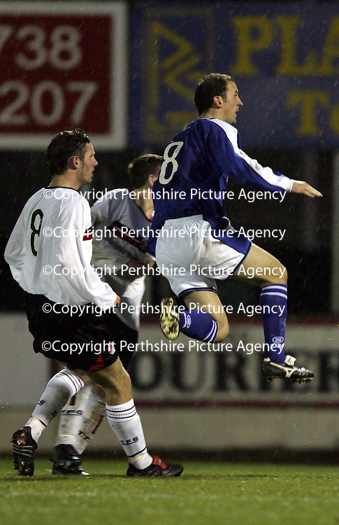 St Johnstone v Clyde..27.11.04<br />