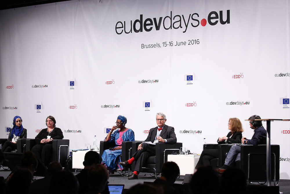 20160616 - Brussels , Belgium - 2016 June 16th - European Development Days - An economy for the 1 Percent © European Union