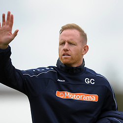 TELFORD COPYRIGHT MIKE SHERIDAN Gavin Cowan during the National League North fixture between Brackley Town and AFC Telford United at St James's Park on Saturday, September 7, 2019<br /> <br /> Picture credit: Mike Sheridan<br /> <br /> MS201920-016