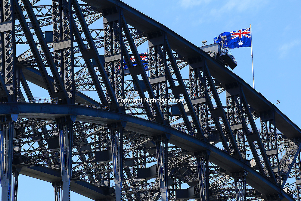 Up close and personal with the Sydney Harbour Bridge