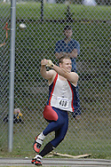 Turland, Arthur competing in senior men's hammer throw  at the 2007 OTFA Junior-Senior Championships held in Ottawa from 30 June to July 1.