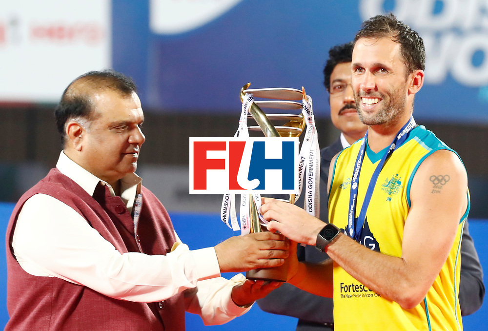 Odisha Men's Hockey World League Final Bhubaneswar 2017<br /> Match id:<br /> Ceremony<br /> Foto: Australia<br /> WORLDSPORTPICS COPYRIGHT KOEN SUYK