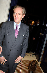 The MARQUESS OF DOURO at a party to celebrate the 21st year of Hackett held at their store in Sloane Street, London on 26th October 2004.<br /><br />NON EXCLUSIVE - WORLD RIGHTS