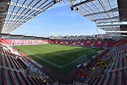 Rotherham United AESSEAL stadium before the EFL Sky Bet League 1 match between Rotherham United and Doncaster Rovers at the AESSEAL New York Stadium, Rotherham, England on 24 February 2018. Picture by Ian Lyall.
