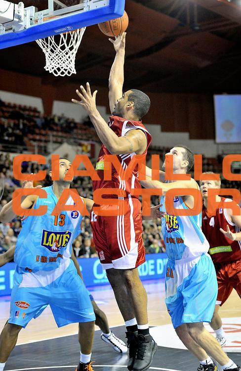 DESCRIZIONE : Championnat de France Basket Ligue Pro A  au Mans<br /> GIOCATORE : GREER Ricardo<br /> SQUADRA : Strasbourg<br /> EVENTO : Ligue Pro A  2010-2011<br /> GARA : Le Mans Strasbourg<br /> DATA : 05/02/2011<br /> CATEGORIA : Basketbal France Ligue Pro A<br /> SPORT : Basketball<br /> AUTORE : JF Molliere/Herve Petitbon par Agenzia Ciamillo-Castoria <br /> Galleria : France Basket 2010-2011 Action<br /> Fotonotizia : Championnat de France Basket Ligue Pro A au Mans<br /> Predefinita :
