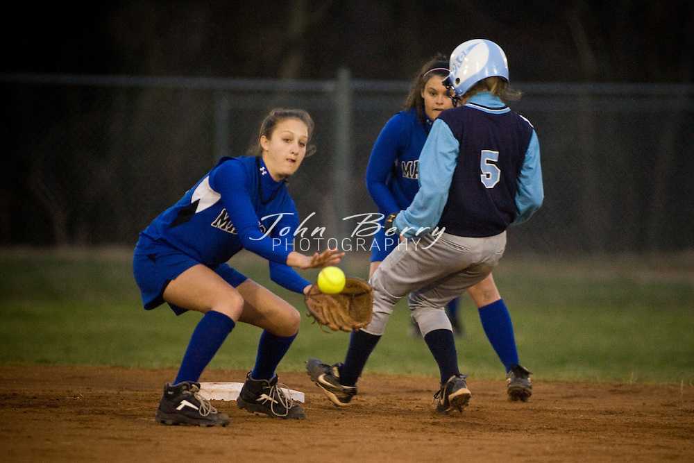 MCHS Varsity Softball.vs Page.3/28/2008..