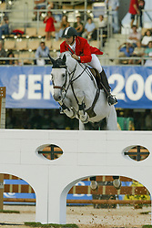 Becker Otto (GER) - Dobel's Cento<br /> World Equestrian Games Jerez de la Fronteira 2002<br /> Photo © Dirk Caremans