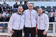 DESCRIZIONE : Trento Beko All Star Game 2016<br /> GIOCATORE : Maurizio Biggi Manuel Mazzoni Gianluca Calbucci<br /> CATEGORIA : Arbitro Referee Before Pregame Ritratto<br /> SQUADRA : AIAP<br /> EVENTO : Beko All Star Game 2016<br /> GARA : Beko All Star Game 2016<br /> DATA : 10/01/2016<br /> SPORT : Pallacanestro <br /> AUTORE : Agenzia Ciamillo-Castoria/L.Canu