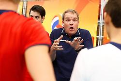20140928 NED: Supercup, Landstede Volleybal - Kootfin Taurus: Sneek<br /> Arjen Schimmel headcoach of Kootfin Taurus<br /> ©2014-FotoHoogendoorn.nl / Pim Waslander