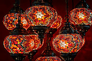Typical turkish lamps