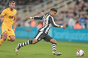 DeAndre Yedlin (Newcastle United) during the EFL Cup 4th round match between Newcastle United and Preston North End at St. James's Park, Newcastle, England on 25 October 2016. Photo by Mark P Doherty.