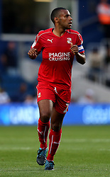 Nathan Thompson of Swindon Town - Mandatory by-line: Robbie Stephenson/JMP - 10/08/2016 - FOOTBALL - Loftus Road - London, England - Queens Park Rangers v Swindon Town - EFL League Cup