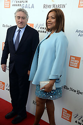 NEW YORK, NY - MAY 08: Robert De Niro, Grace Hightower attends the 44th Chaplin Award Gala at David H. Koch Theater at Lincoln Center on May 8, 2017 in New York City..People:  Robert De Niro, Grace Hightower. (Credit Image: © SMG via ZUMA Wire)