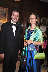 Archduke Georg of Austria and his wife Duchess Eilika of Oldenburg at the London Red Cross Ball held at the Churchill Hotel, Portman Square, London on 10th June 2009.