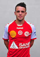 Quentin LEITE PEREIRA - 03.10.2013 - Photo officielle Reims - Ligue 1<br /> Photo : Philippe Le Brech / Icon Sport