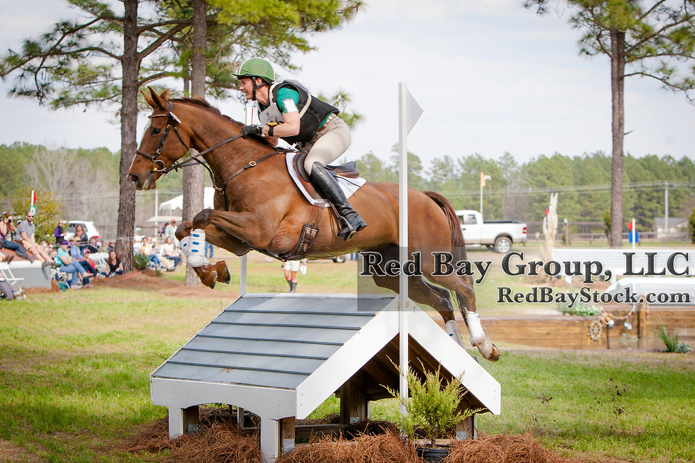 Colleen Loach (CAN) and Freespirit at the Carolina International in Raeford, North Carolina.
