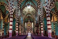 Santuario Nuestra Senora del Carmen ancient church in La Candelaria aera Bogota capital city of Colombia South America