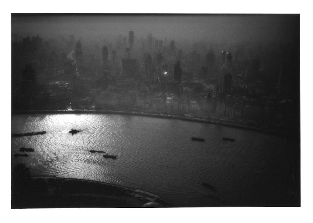 Backlit Shanghai. China 2000