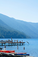 Lake Crescent, Olympic National Park, WA