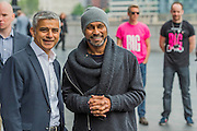 The Mayor of London Sadiq Khan joined choreographer Akram Khan (R) and Londoners as they warmed-up at City Hall for the international Big Dance Pledge. On Friday 20 May, over 40,000 people in 43 countries around the world will take part in the Big Dance event, which has been specially choreographed by Akram Khan. Among the Londoners were: Students from University of Roehampton; MovE17 community group; Children from John Scurr Primary School; and the Croydon Community Dance group. This year is the finale of Big Dance, celebrating ten years of grassroots and community dance.
