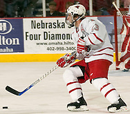 12/29/05  Omaha, NE University of Nebraska at Omaha's Scott Parse vs Univ of Alabama-Huntsville Thursday night...(photo by Chris Machian/Prairie Pixel Group)