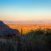 View of the valley from San Tan Regional Park - Queen Creek, AZ