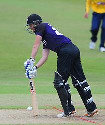 Ian Cockbain of Gloucestershire  - Photo mandatory by-line: Dougie Allward/JMP - Mobile: 07966 386802 - 14/07/2015 - SPORT - Cricket - Cheltenham - Cheltenham College - Natwest T20 Blast