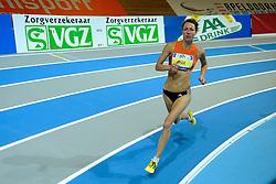 06-02-2010 ATLETIEK: NK INDOOR: APELDOORN<br /> Yvonne Hak op de 400 meter<br /> ©2010-WWW.FOTOHOOGENDOORN.NL