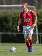 Martin Kristoffersen (Ejby) under kampen i Serie 2 mellem Ølstykke FC og Ejby IF den 7. september 2019 på Ølstykke Stadion. Foto: Claus Birch.
