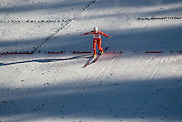 Anders Bardal (NOR) competes in the World Cup Ski Jumping competition at Whistler Olympic Park on Sunday January 25, 2009