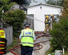 Rotorua-Occupant injured in house fire