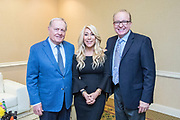 Pictured: Jack Nicklaus, Lori Greiner, and Dr. James L. Davis.<br />