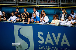 Karl Erjavec and Miran Krasevec during Day 9 of ATP Challenger Zavarovalnica Sava Slovenia Open 2019, on August 17, 2019 in Sports centre, Portoroz/Portorose, Slovenia. Photo by Vid Ponikvar / Sportida