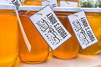 Yousef harvests honey and makes jelly and wax from their combs, which he sells locally and to the few foreign travelers who pass through Umm Qai